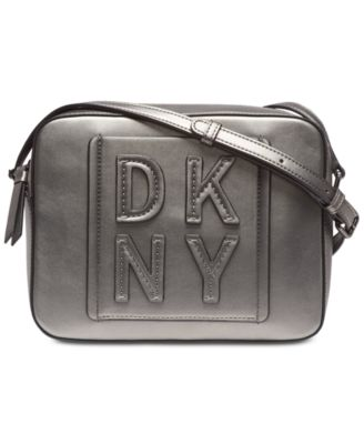 bdfbec320df DKNY Tilly Stacked Logo Camera Bag, Created for Macy's & Reviews - Handbags  & Accessories - Macy's