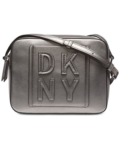 DKNY Tilly Stacked Logo Camera Bag, Created for Macy's