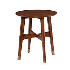 Cardewell Round Midcentury Modern End Table