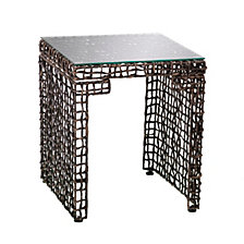 CLOSEOUT! Lilian Woven End Table