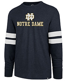 '47 Brand Men's Notre Dame Fighting Irish Long Sleeve Scramble T-Shirt