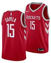 a99ab2426 Nike Men s Clint Capela Houston Rockets Icon Swingman Jersey