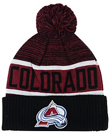 Authentic NHL Headwear Colorado Avalanche Goalie Knit Hat