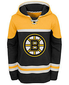 Outerstuff Boston Bruins Asset Hoodie, Big Boys (8-20)