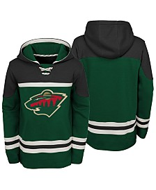 Outerstuff Minnesota Wild Asset Hoodie, Big Boys (8-20)