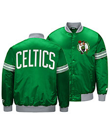 G-III Sports Men's Boston Celtics Draft Pick Starter Satin Jacket