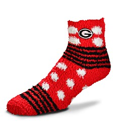 For Bare Feet Georgia Bulldogs Homegater Sleep Soft Socks