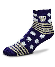 For Bare Feet Washington Huskies Homegater Sleep Soft Socks