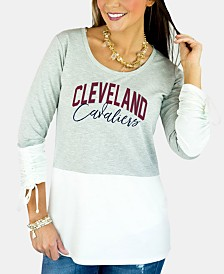 Gameday Couture Women's Cleveland Cavaliers Embellished Tunic Top