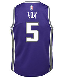 Nike DeAaron Fox Sacramento Kings Icon Replica Jersey, Little Boys (4-7)