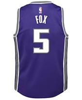 9cd3170cda8 Nike DeAaron Fox Sacramento Kings Icon Replica Jersey