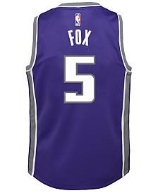 Nike DeAaron Fox Sacramento Kings Icon Replica Jersey, Little Boys (4-7)