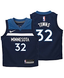 Nike Karl-Anthony Towns Minnesota Timberwolves Icon Replica Jersey, Toddler Boys (2T-4T)