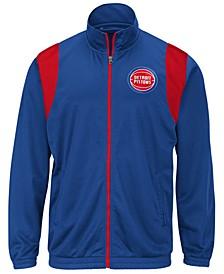 Men's Detroit Pistons Clutch Time Track Jacket