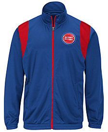 G-III Sports Men's Detroit Pistons Clutch Time Track Jacket