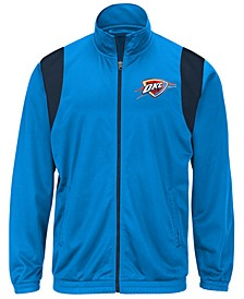 Men's Oklahoma City Thunder Clutch Time Track Jacket