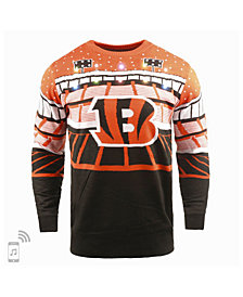Forever Collectibles Men's Cincinnati Bengals Bluetooth Sweater