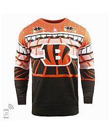 Forever Collectibles Men's Cincinnati Bengals Bluetooth Sweater