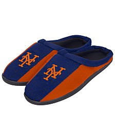 Forever Collectibles New York Mets Knit Cup Sole Slippers