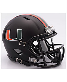 Riddell Miami Hurricanes Speed Mini Helmet