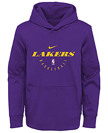 Nike Los Angeles Lakers Spotlight Hoodie, Big Boys (8-20)