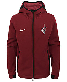 Nike Cleveland Cavaliers Showtime Hooded Jacket, Big Boys (8-20)
