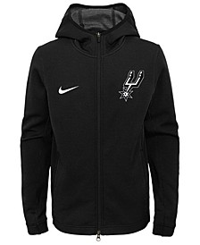 San Antonio Spurs Showtime Hooded Jacket, Big Boys (8-20)