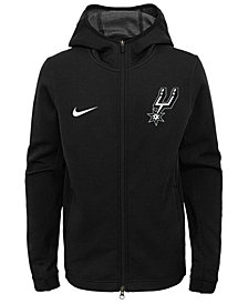Nike San Antonio Spurs Showtime Hooded Jacket, Big Boys (8-20)