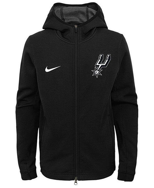 Nike San Antonio Spurs Showtime Hooded Jacket, Big Boys (8-20)