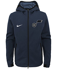 Nike Utah Jazz Showtime Hooded Jacket, Big Boys (8-20)