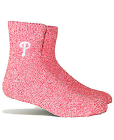 PKWY Philadelphia Phillies Parkway Team Fuzzy Socks