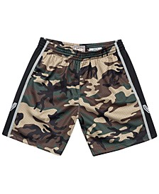 Men's San Antonio Spurs Woodland Camo Swingman Shorts
