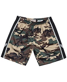 Mitchell & Ness Men's San Antonio Spurs Woodland Camo Swingman Shorts