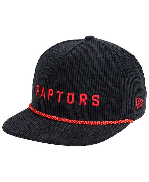 buy popular b551f 9bcde New Era. Toronto Raptors Hardwood Classic Nights Cords 9FIFTY Snapback Cap.  Be the first to Write a Review.  31.99. main image  main image ...
