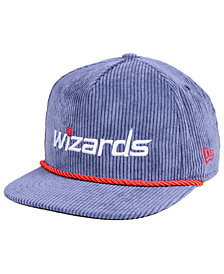 New Era Washington Wizards Hardwood Classic Nights Cords 9FIFTY Snapback Cap