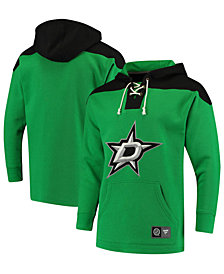 Majestic Men's Dallas Stars Breakaway Lace Up Hoodie