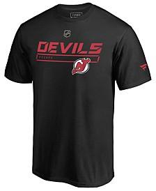Majestic Men's New Jersey Devils Rinkside Prime T-Shirt
