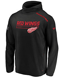 Majestic Men's Detroit Red Wings Rinkside Transitional Hoodie