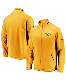 Majestic Men's Nashville Predators Rinkside Authentic Pro Jacket