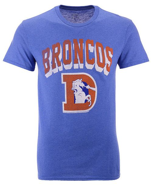 Authentic NFL Apparel Men's Denver Broncos Shadow Arch Retro T-Shirt