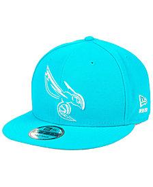 New Era Charlotte Hornets Logo Trace 9FIFTY Snapback Cap