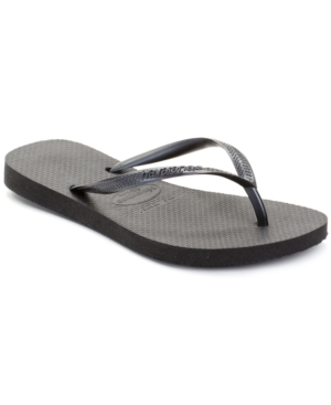 Havaianas Women's Slim Metallic Flip Flops Women's Shoes