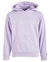 89f4d6c2b0c Champion Little Girls Mesh-Logo Frency Terry Hoodie