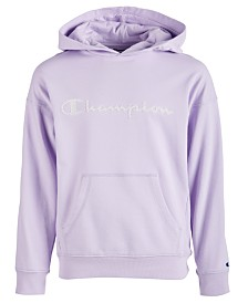 Champion Toddler Girls Mesh-Logo Frency Terry Hoodie