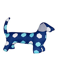 Masala Baby Buddy Dog Ikat Dots Toy