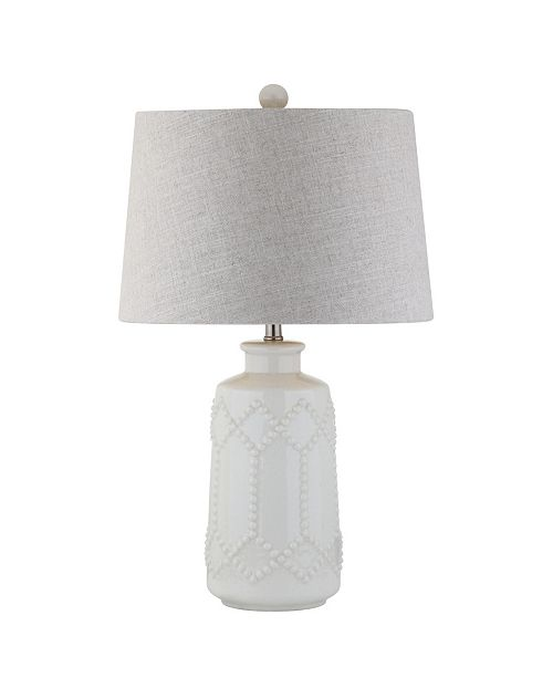JONATHAN Y Alice Ceramic Led Table Lamp