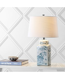 JONATHAN Y Audrey Chinoiserie Led Table Lamp