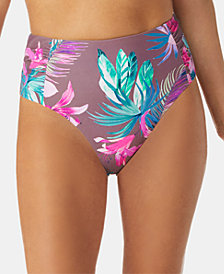 Raisins Tahiti Bloom Printed Shayla Cheeky High-Waist Bottoms