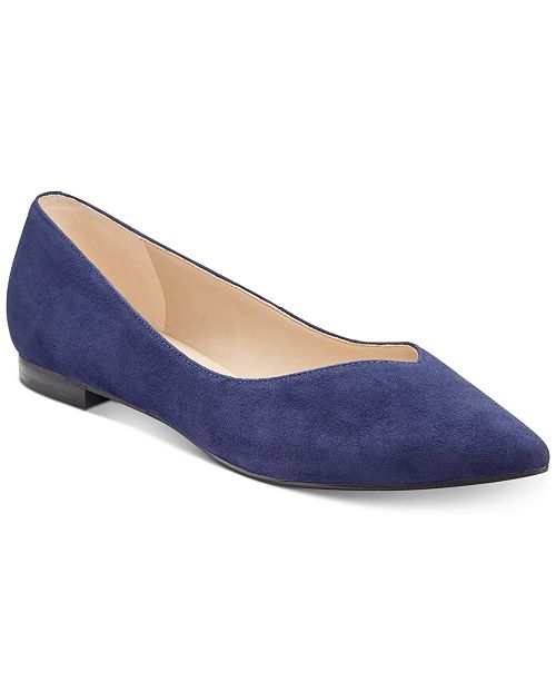 01759a0d3e2e Marc Fisher Analia Pointed-Toe Flats   Reviews - Flats - Shoes - Macy s