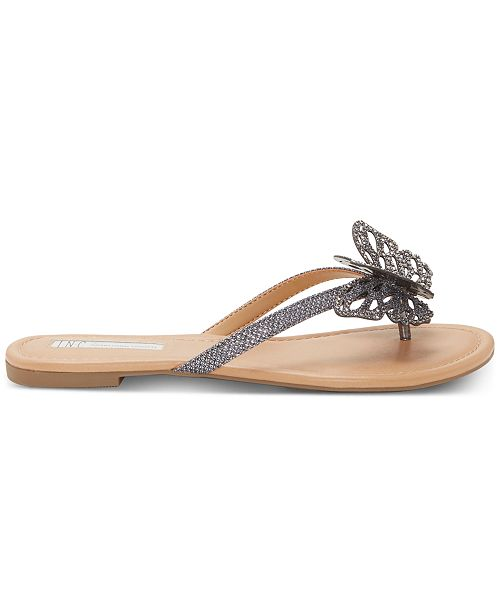 b29846027 ... INC International Concepts I.N.C. Women's Marsha Butterfly Flip-Flop  Sandals, Created for Macy's ...